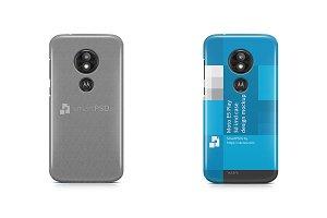 Moto E5 Play 3d IMD Case Mockup