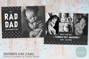 AJ003 Father's Day Card