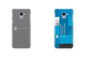 Samsung Galaxy J6 3d IMD Case Maokup