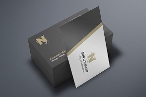 Business Card Mock-Up 12