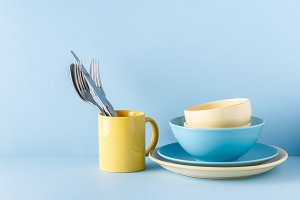 Crockery and cutlery