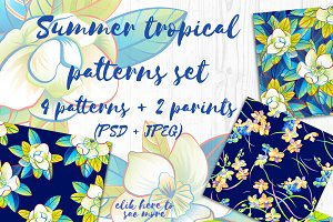 Summer tropical patterns set