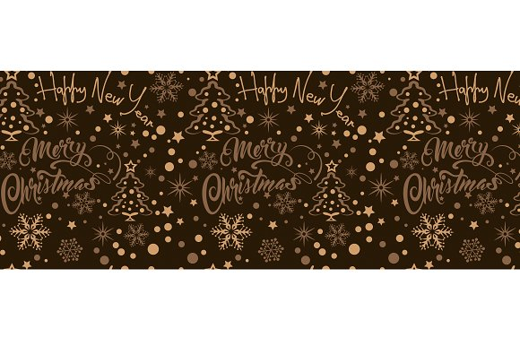 Abstract Dark Christmas Background