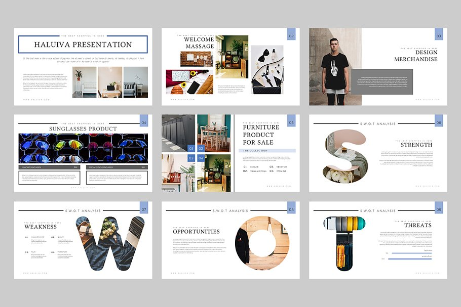 Haluiva Pitch Deck Powerpoint  in PowerPoint Templates - product preview 8