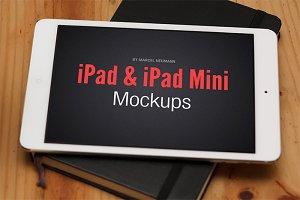 iPad & iPad Mini Mockups