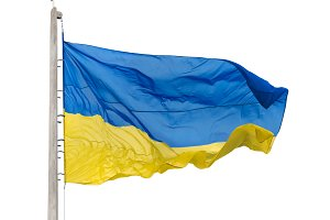 Ukrainian national flag