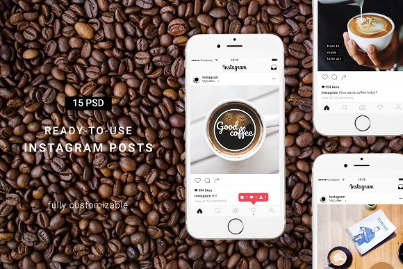 Hint Of Coffee Instagram Pack