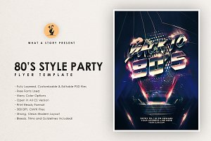 80's style Party