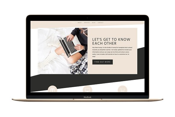 The Emilia Divi Wordpress Theme