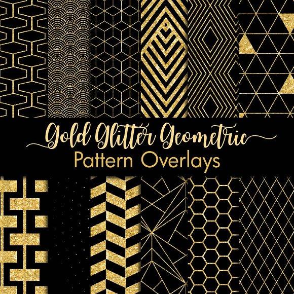 Geometric Pattern Overlay Clipart