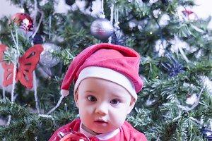 Sweet Baby Santa Claus