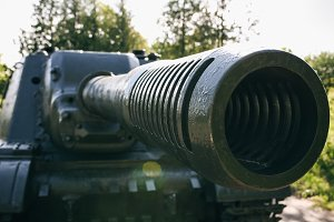 Old tank from the Second World war