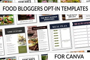 Opt-in Freebie Templates - Food Blog