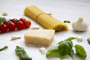 Ingredients for cooking italian