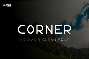 Corner Font