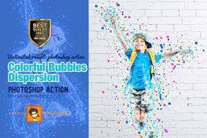 Colorful Bubbles Dispersion
