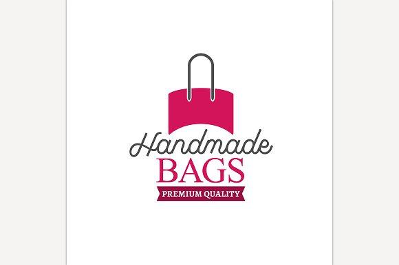 Handbag Shop Logo ~ Icons ~ Creative Market 2a53cab5b5
