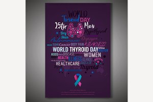 Thyroid Gland Day Poster