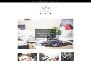 XBlog - WordPress Theme for Bloggers