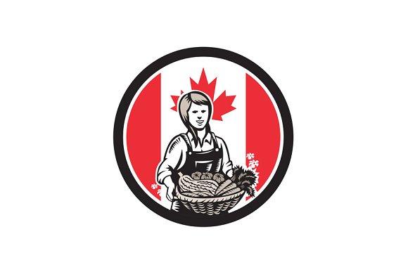 Canadian Female Organic Farmer Canad