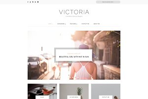 Victoria - A Clean Blog Theme