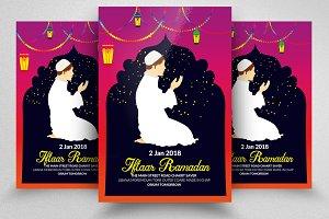 Ramadan Edi Mubarak Flyer Template