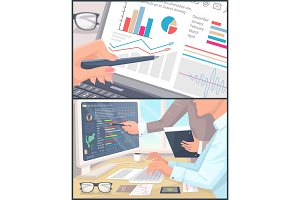 Business Statistics and Analytics Color Poster