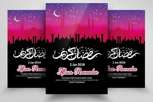 Ramadan Eid Chand Flyer Template