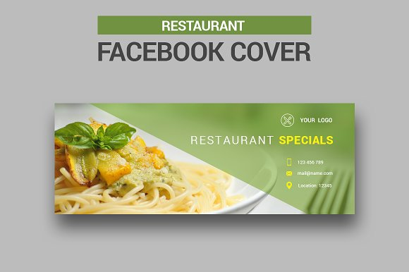 Restauranat Facebook Cover