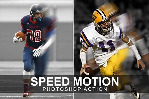 Speed Motion Photoshop Action