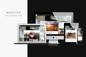 Monster  - Responsive Blogging Theme