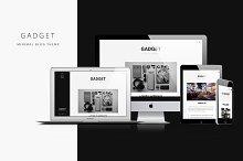 Gadget - Minimal Blog Theme