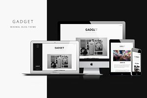 Gadget - Minimal Blog Theme