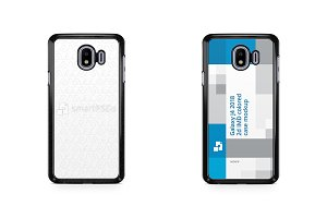 Samsung Galaxy J4 2d PC Colored Case