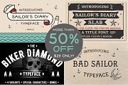 Wicked Tattoo Font Bundle