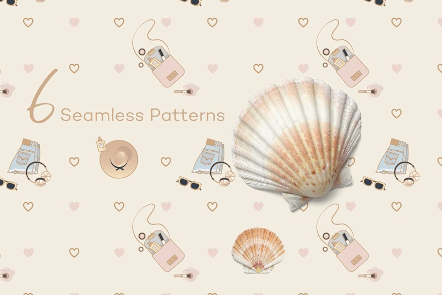 Beauty & Fashion Icon Pack in Graphics - product preview 5