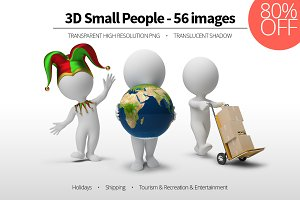 3D Small People - Set 05