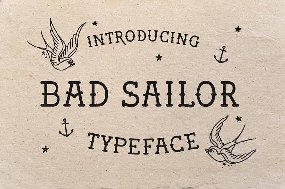 Wicked Tattoo Font Bundle in Slab Serif Fonts - product preview 11