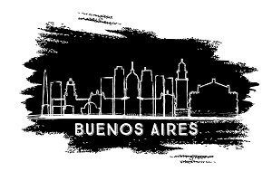 Buenos Aires Argentina City Skyline
