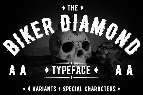 Wicked Tattoo Font Bundle in Slab Serif Fonts - product preview 14