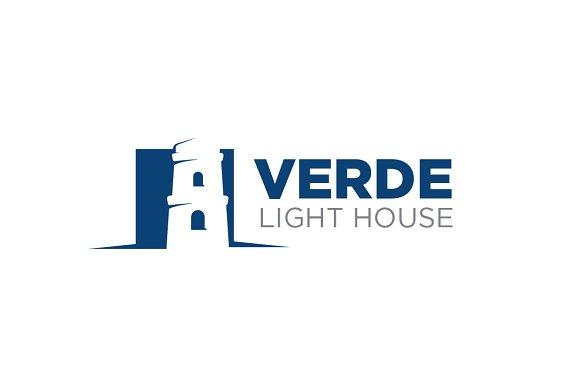 Verde Light House Template Logo