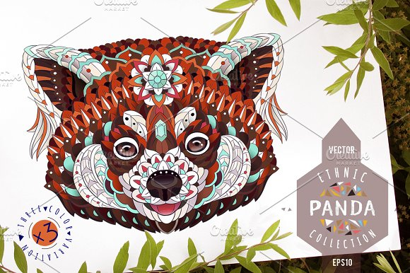 Ethnic Collection Red Panda