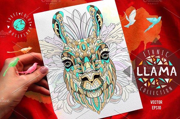 Ethnic Collection Llama