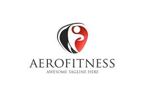 AEROFITNESS Template Logo