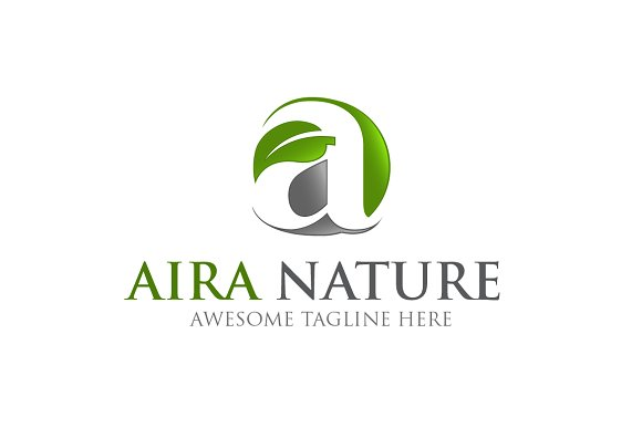 AIRA NATURE Template Logo