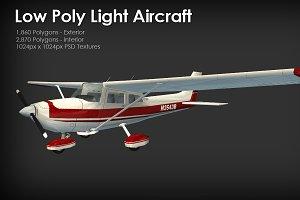 Low Poly Light Aircraft