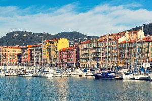 Nice and Luxury Yachts, French