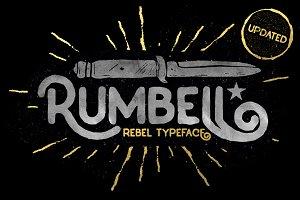 Rumbell Vintage Branding font