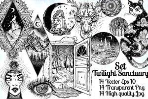 Twilight Sanctuary Set