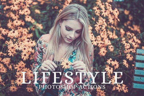 25 Lifestyle Photoshop Actions